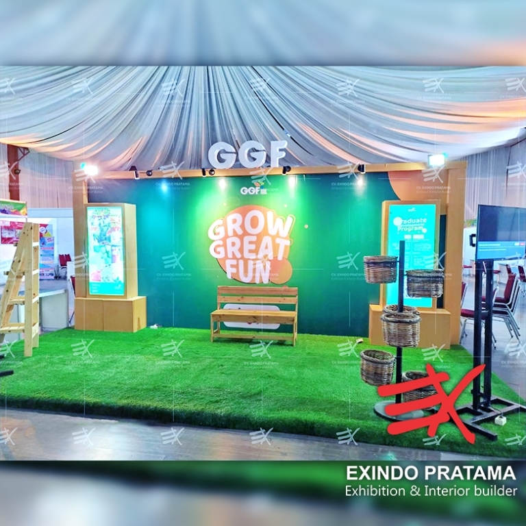 Stand/Booth GGF Purwokerto